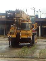 80ton motor crane for sale
