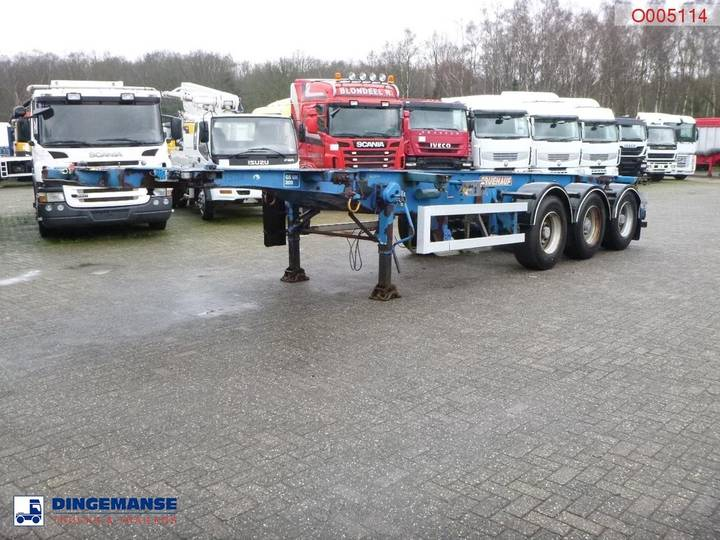 GENERAL TRAILER 3-axle container trailer 20-30 ft - 1999