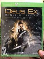 Deus Ex Mankind Divided - XBox One Game