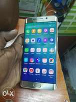 Samsung galaxy S6 edge plus golden 1month used only still new