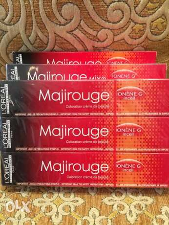 L'Oréal Majirouge - Red Hair Colour