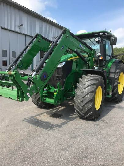 John Deere 7230r Ap Traktor Fr.lyft - 2016