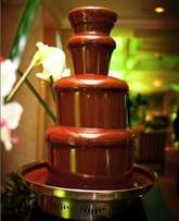Chocolate fountain ,Dome tents, chairs and tables for hire