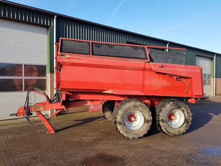 VGM 20 tons kipper