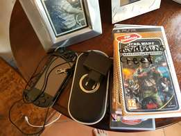 8 games PSP case a PSP and a charger