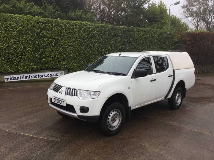 Mitsubishi L200 2.5 Di-d 4-work D/c Pick-up *no Vat* - 2011