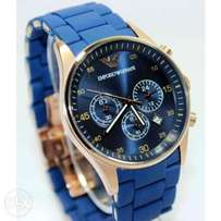 Emporio Armani Blue Watch
