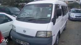 Nissan vannnet for sale