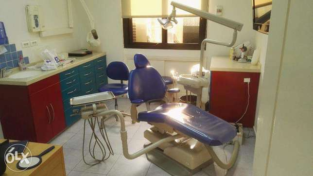 Dental Chair for rent in a polyclinic in jdeydeh metn