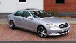 2009 Mercedes S320L CDI Diesel*sunroof, pictures in HD* alloy wheels