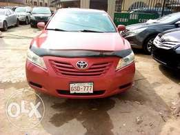 TOYOTA Camry 2008 Model Red Colour