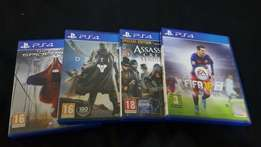 4XPs4 games for sale