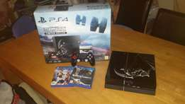 Limited edition Darth Vader PS4 1TB with 5games