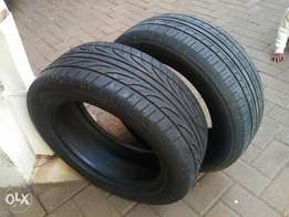 205/55/R16 TIRES each at 7,500/-
