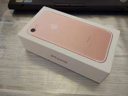 Iphone 7 32gb original rose gold brand new in plastics for sale/swop