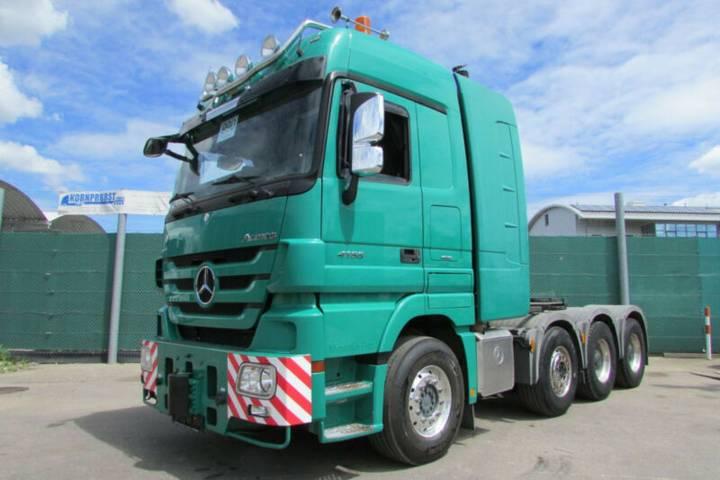 Mercedes-Benz 4165 S 8x4 BLATT- TITAN WSK - 250 to PUSH-PULL - 2013