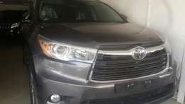 Toyota kluger 2014 gray