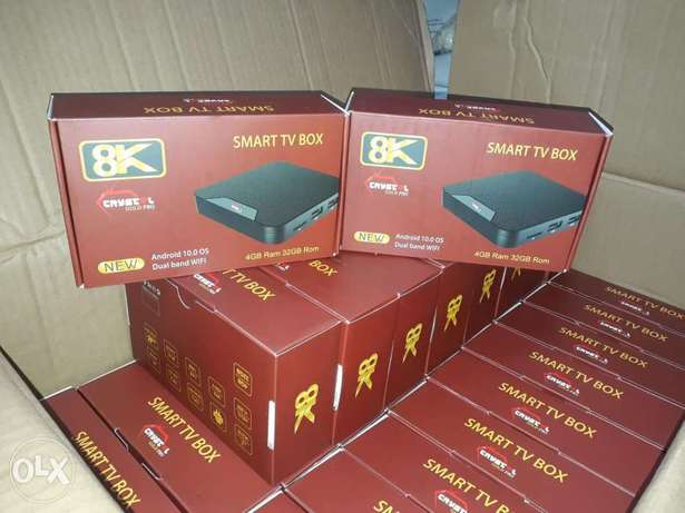 Android tv box receives