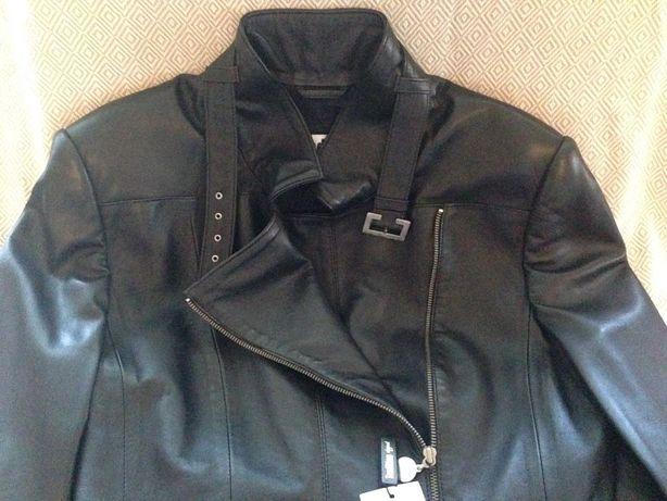 Новая кожаная куртка черная женская  5 500 грн. - Жіночий одяг Київ ... 0a7b3659b37da