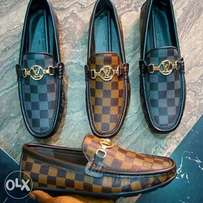 New Louis Vuitton Check Loafers