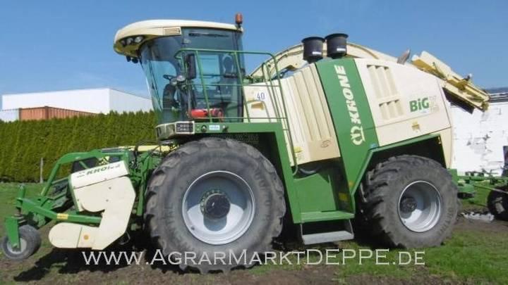 Krone big-x 1100 - 2012