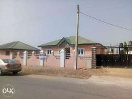 A well finished three bedroom flat at new site lugbe