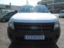 Ford Ranger 2.5Xl single Cab 2012 Model with 2 Doors, Factory A/C