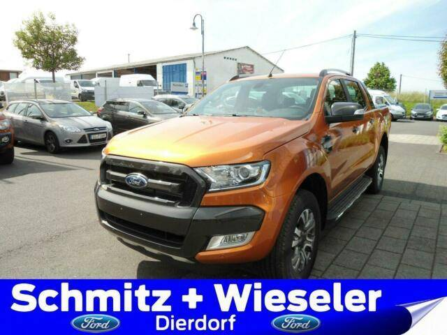 Ford Ranger DOKA 4x4 Wildtrak 200PS/Auto/Rollo/Offroa - 2019