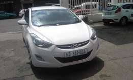 Hyundai accent 1.6 white in color 2013 model 26000km R155000