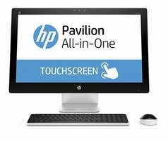 Brand HP pavalion 27 i5 6th gen 8gb/1TB touch screen desktop at shop