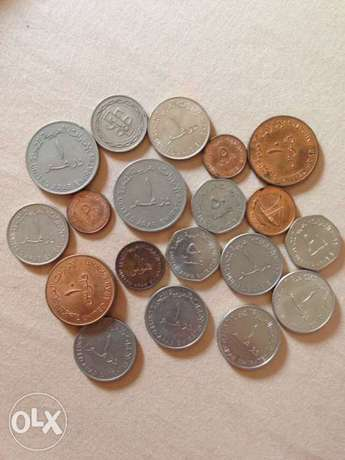 19 coins from UAE