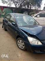 Mitsubishi lancer salvage for quick sale