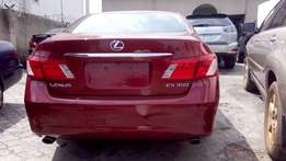 2009 Lexus ES350 tokunbo limited edition edition leather seat automat