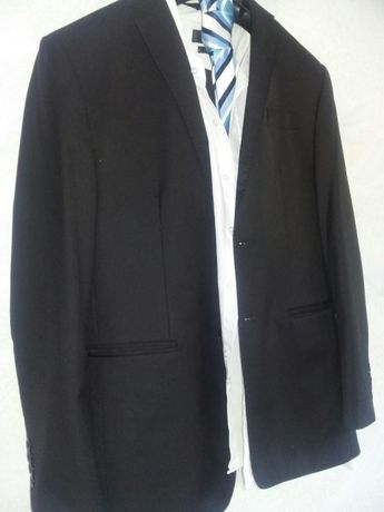 380bb618d6db1 Garnitur męski czarny firmy ALJEKA. Rozmiar M Siemiatycze - image 5