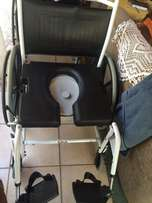 "Brand new commode wheelchair (""toilet wheelchair"")"