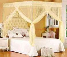 Mosquito Nets (straight metallic/chrome frame) at 2299 all sizes