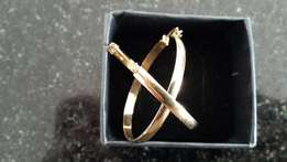 Gold Hoop Earrings For Sale