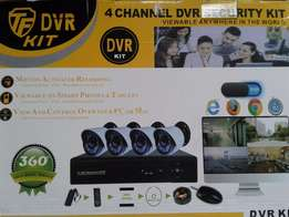 4 channel cctv camera system for sale