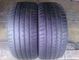 235/40/R18 R1500 for 2 tyres in a good condition each is R800
