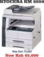 Kyocera km 2050 fully equipped with printer scanner and photocopy at a