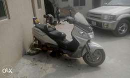 For sale big Scooter power bike inside Agboyi estate alapere ketu