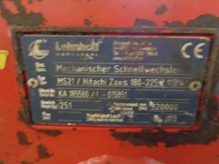 Lehnhoff Ms21 Hitachi Zx180 - Zx225 - 2013 - image 5