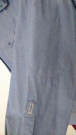 753c7dba1 Koszula męska Cropp niebiesko-beżowa ,długi rękaw M-L Radom - image 3