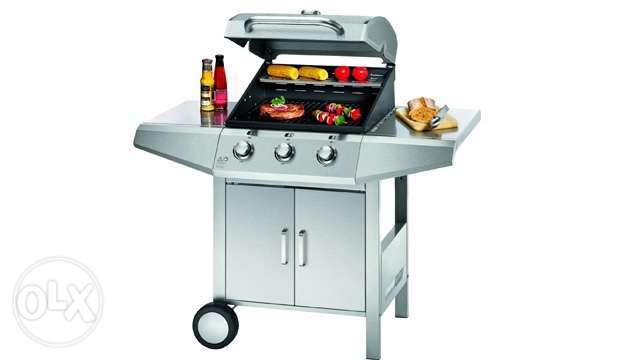 proficook BBQ gas grill-stainless steel
