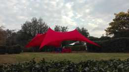 Stretch Tents for Hire (from R450), plus sound, DJs etc.