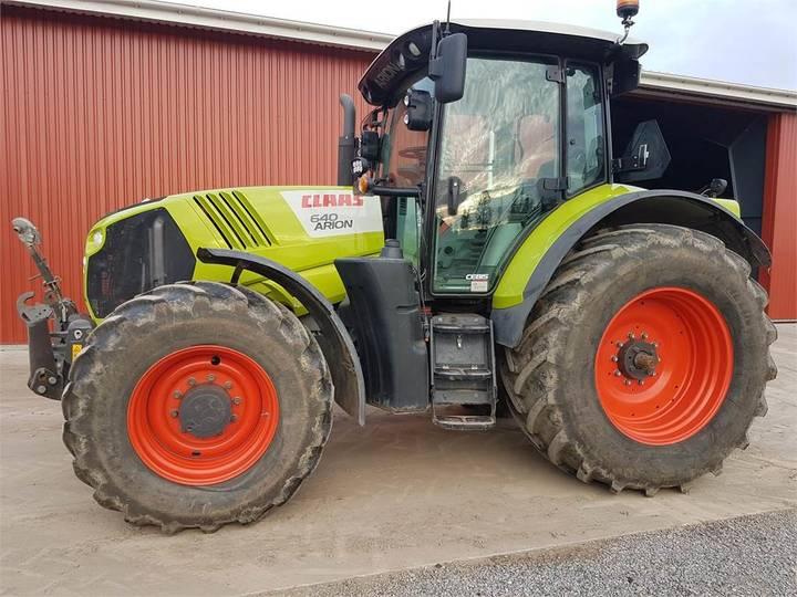 Claas Arion 640 Cebis Traktor - 2013