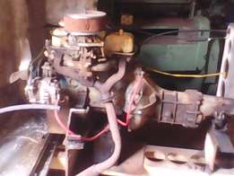 Dutsen A10 engine and gearbox