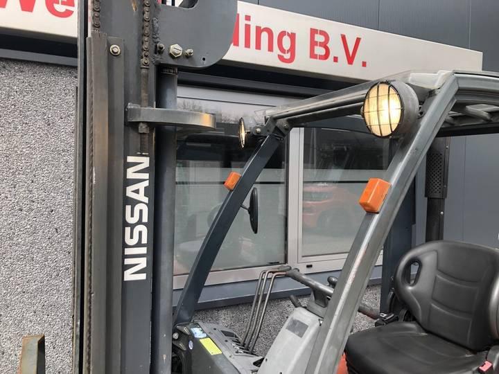 heftruck NISSAN PD01A15PQ 1.5 ton duplo 375 sideshift 7... - 2002 - image 12