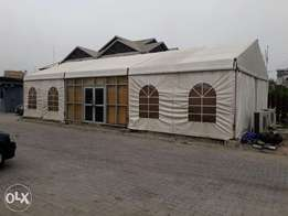 Maquee tents locally fabricated in Nigeria