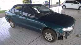hyundai accent 130ks stripping for spares